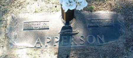 APPERSON, CLAUDE HAROLD - Yavapai County, Arizona | CLAUDE HAROLD APPERSON - Arizona Gravestone Photos