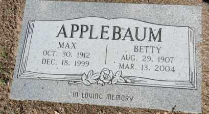 APPLEBAUM, MAX - Yavapai County, Arizona | MAX APPLEBAUM - Arizona Gravestone Photos