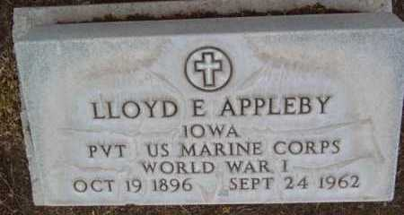 APPLEBY, LLOYD EVERETT - Yavapai County, Arizona | LLOYD EVERETT APPLEBY - Arizona Gravestone Photos