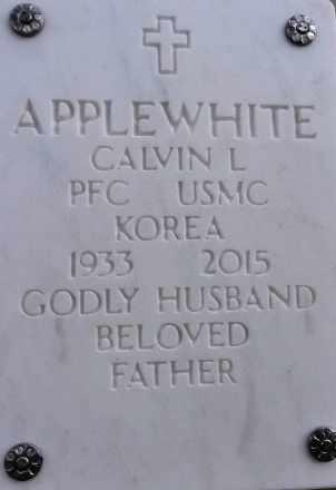 APPLEWHITE, CALVIN LEE - Yavapai County, Arizona | CALVIN LEE APPLEWHITE - Arizona Gravestone Photos