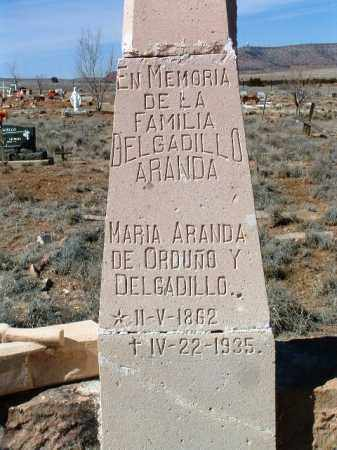 ARANDA, FAMILY HEADSTONE - Yavapai County, Arizona | FAMILY HEADSTONE ARANDA - Arizona Gravestone Photos