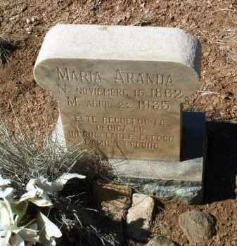 DELGARDILLO ARANDA, MARIA - Yavapai County, Arizona | MARIA DELGARDILLO ARANDA - Arizona Gravestone Photos