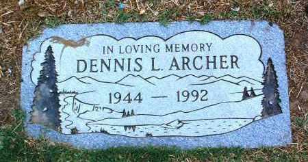 ARCHER, DENNIS LEE - Yavapai County, Arizona | DENNIS LEE ARCHER - Arizona Gravestone Photos