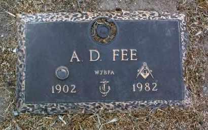 FEE, ARLO D. - Yavapai County, Arizona | ARLO D. FEE - Arizona Gravestone Photos