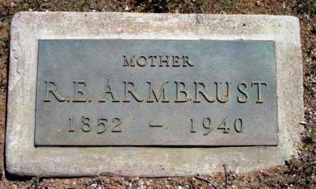 ARMBRUST, ZERUIAH E. - Yavapai County, Arizona | ZERUIAH E. ARMBRUST - Arizona Gravestone Photos