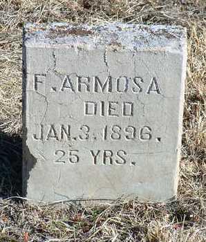 ARMOSA, F. - Yavapai County, Arizona   F. ARMOSA - Arizona Gravestone Photos