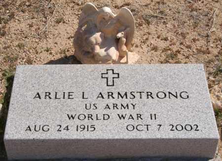 ARMSTRONG, ARLIE L. - Yavapai County, Arizona | ARLIE L. ARMSTRONG - Arizona Gravestone Photos