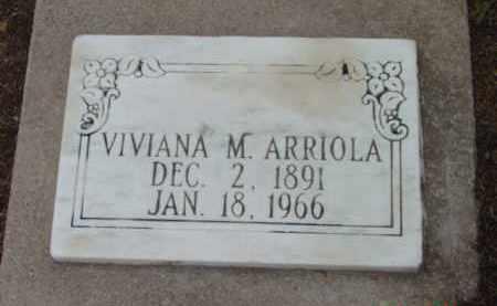 ARRIOLA, VIVIANA M. - Yavapai County, Arizona | VIVIANA M. ARRIOLA - Arizona Gravestone Photos