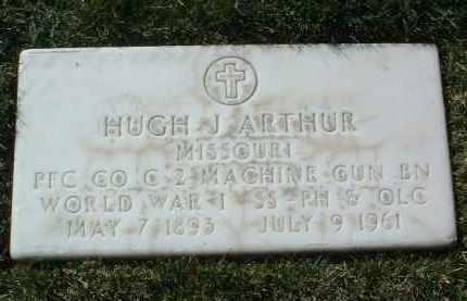 ARTHUR, HUGH J. - Yavapai County, Arizona | HUGH J. ARTHUR - Arizona Gravestone Photos