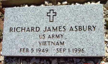 ASBURY, RICHARD JAMES - Yavapai County, Arizona | RICHARD JAMES ASBURY - Arizona Gravestone Photos