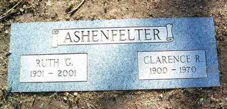 ASHENFELTER, CLARENCE R. - Yavapai County, Arizona | CLARENCE R. ASHENFELTER - Arizona Gravestone Photos