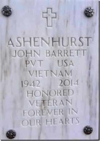 ASHENHURST, JOHN BARRETT - Yavapai County, Arizona | JOHN BARRETT ASHENHURST - Arizona Gravestone Photos