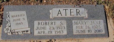 ATER, ROBERT STEWART - Yavapai County, Arizona | ROBERT STEWART ATER - Arizona Gravestone Photos