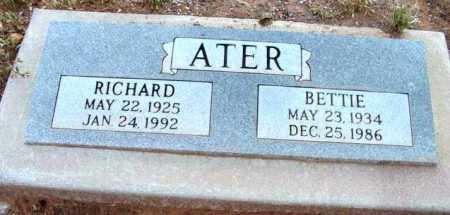 ATER, BETTIE - Yavapai County, Arizona | BETTIE ATER - Arizona Gravestone Photos