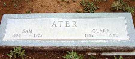 ATER, CLARA - Yavapai County, Arizona | CLARA ATER - Arizona Gravestone Photos