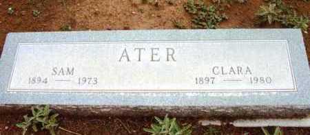 POWERS ATER, CLARA - Yavapai County, Arizona | CLARA POWERS ATER - Arizona Gravestone Photos