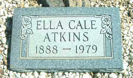 ATKINS, ELLA CALE - Yavapai County, Arizona   ELLA CALE ATKINS - Arizona Gravestone Photos