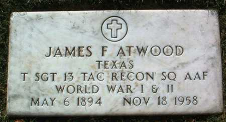 ATWOOD, JAMES FLETCHER - Yavapai County, Arizona | JAMES FLETCHER ATWOOD - Arizona Gravestone Photos