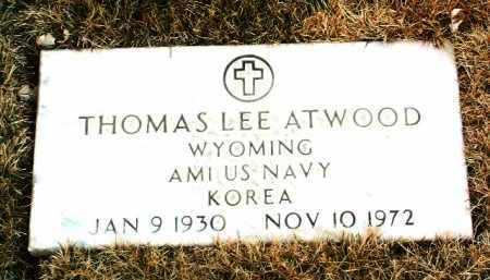 ATWOOD, THOMAS LEE - Yavapai County, Arizona   THOMAS LEE ATWOOD - Arizona Gravestone Photos