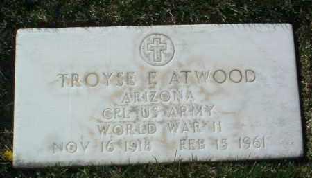 ATWOOD, TROYSE E. (TROY) - Yavapai County, Arizona | TROYSE E. (TROY) ATWOOD - Arizona Gravestone Photos