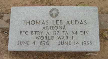 AUDAS, THOMAS LEE - Yavapai County, Arizona   THOMAS LEE AUDAS - Arizona Gravestone Photos