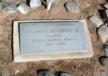 AUTWELL, ELTON, SR. - Yavapai County, Arizona | ELTON, SR. AUTWELL - Arizona Gravestone Photos