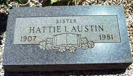 SULLIVAN AUSTIN, HATTIE I. - Yavapai County, Arizona | HATTIE I. SULLIVAN AUSTIN - Arizona Gravestone Photos