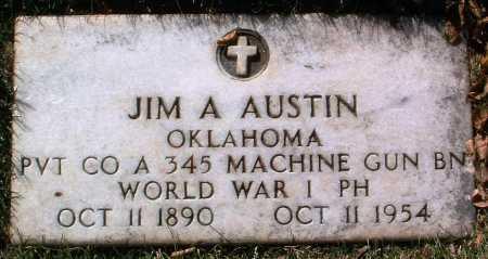 AUSTIN, JIM A. - Yavapai County, Arizona | JIM A. AUSTIN - Arizona Gravestone Photos
