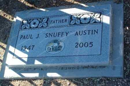 AUSTIN, PAUL J.  (SNUFFY) - Yavapai County, Arizona | PAUL J.  (SNUFFY) AUSTIN - Arizona Gravestone Photos