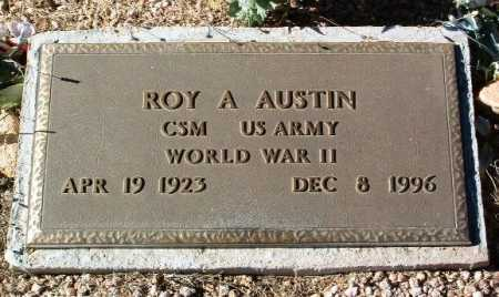 AUSTIN, ROY A. - Yavapai County, Arizona | ROY A. AUSTIN - Arizona Gravestone Photos