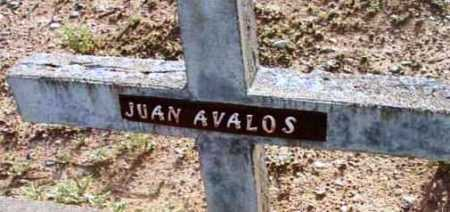 AVALOS, JUAN - Yavapai County, Arizona | JUAN AVALOS - Arizona Gravestone Photos