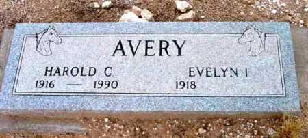 AVERY, EVELYN I. - Yavapai County, Arizona | EVELYN I. AVERY - Arizona Gravestone Photos
