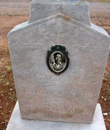 AVILA, MACARIO - Yavapai County, Arizona   MACARIO AVILA - Arizona Gravestone Photos
