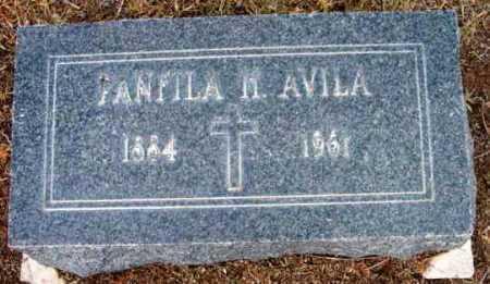 HERNANDEZ AVILA, PANFILA - Yavapai County, Arizona | PANFILA HERNANDEZ AVILA - Arizona Gravestone Photos