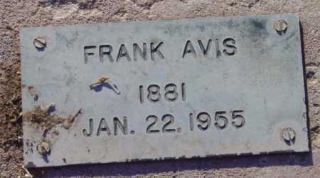 AVIS, FRANK - Yavapai County, Arizona | FRANK AVIS - Arizona Gravestone Photos