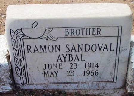 AYBAL, RAMON SANDOVAL - Yavapai County, Arizona   RAMON SANDOVAL AYBAL - Arizona Gravestone Photos