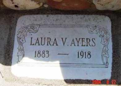 AYERS, LAURA V. - Yavapai County, Arizona | LAURA V. AYERS - Arizona Gravestone Photos