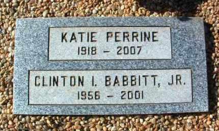 PERRINE, KATIE BALL - Yavapai County, Arizona | KATIE BALL PERRINE - Arizona Gravestone Photos