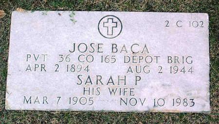 BACA, JOSE - Yavapai County, Arizona | JOSE BACA - Arizona Gravestone Photos