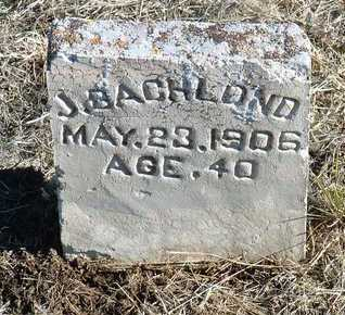 BACHLOND, JOHN - Yavapai County, Arizona | JOHN BACHLOND - Arizona Gravestone Photos