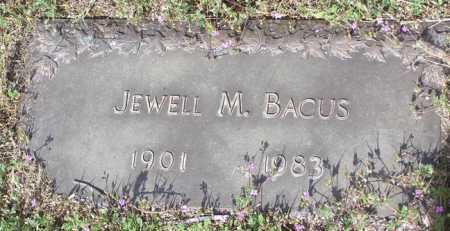 COLLINS BACUS, MARY J. - Yavapai County, Arizona | MARY J. COLLINS BACUS - Arizona Gravestone Photos