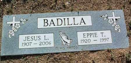 BADILLA, EPPIE T. - Yavapai County, Arizona | EPPIE T. BADILLA - Arizona Gravestone Photos
