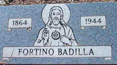 BADILLA, FORTINO - Yavapai County, Arizona | FORTINO BADILLA - Arizona Gravestone Photos