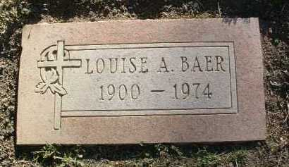 BAER, LOUISE A. - Yavapai County, Arizona | LOUISE A. BAER - Arizona Gravestone Photos