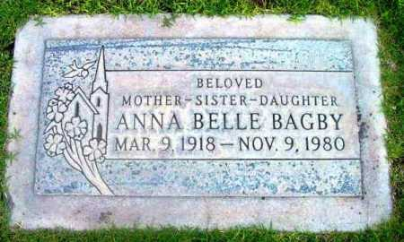 COLEMAN BAGBY, ANNA BELLE - Yavapai County, Arizona | ANNA BELLE COLEMAN BAGBY - Arizona Gravestone Photos