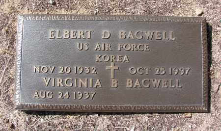BAGWELL, VIRGINIA B. - Yavapai County, Arizona   VIRGINIA B. BAGWELL - Arizona Gravestone Photos