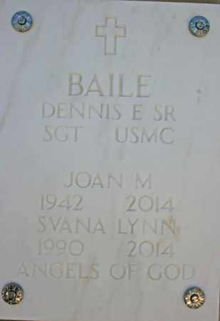 BAILE, JOAN MARIE - Yavapai County, Arizona | JOAN MARIE BAILE - Arizona Gravestone Photos