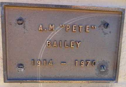 BAILEY, ARTHO MELBURNE - Yavapai County, Arizona | ARTHO MELBURNE BAILEY - Arizona Gravestone Photos