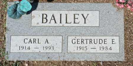 BAILEY, CARL A. - Yavapai County, Arizona   CARL A. BAILEY - Arizona Gravestone Photos
