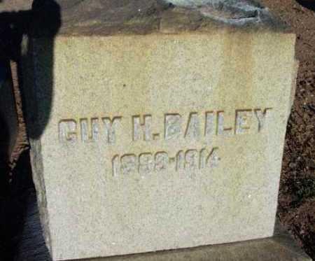 BAILEY, GUY HOWARD - Yavapai County, Arizona | GUY HOWARD BAILEY - Arizona Gravestone Photos